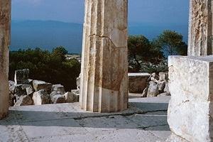 Säulenblick