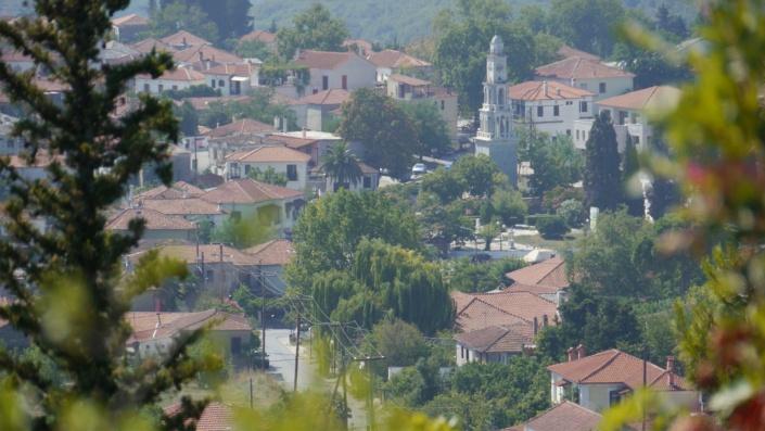 Das Dorf Argalasti